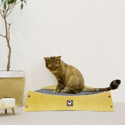 수제공작소 고양이 해먹 스크래쳐 침대형