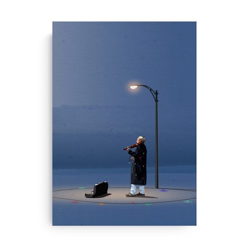 Fromsky A5 미니 포스터 (Frosty the Snowman)