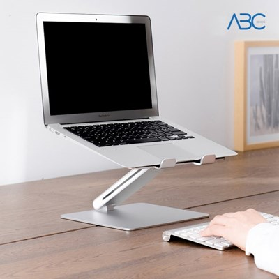 ABC 알루미늄 높이조절 각도조절 노트북 받침대 AP-8