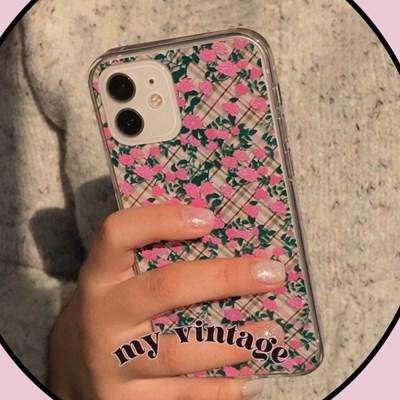 [뮤즈무드] my vintage (clear) 아이폰케이스