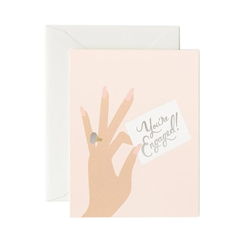 Youre Engaged Card 웨딩 카드