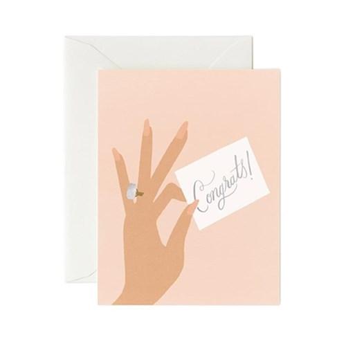 Congrats Ring Card 웨딩 카드