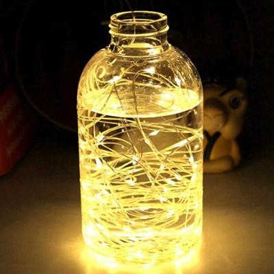 제이픽스 LED 와이어 조명줄 (건전지포함)