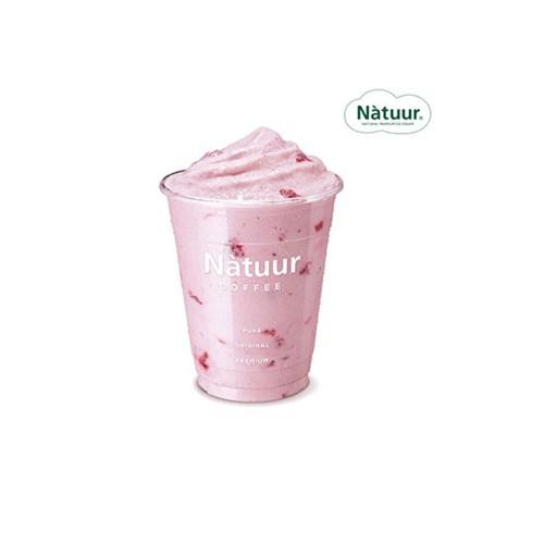 [나뚜루] 딸기 쉐이크