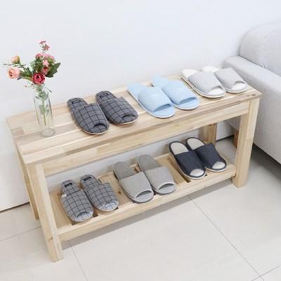 실내화거치대 원목 장식장 테이블 일반형(아카시아)