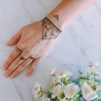 페이퍼셀프 타투스티커 - 22. Henna Black