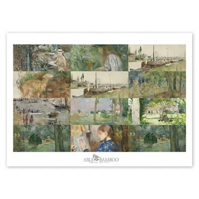 [2021 명화 캘린더] Berthe Morisot 베르트 모리조 Type A