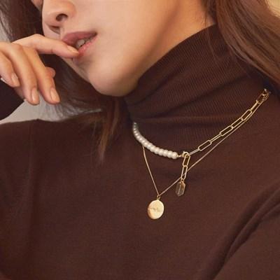 [Silver 925] 투웨이 에버 진주 목걸이 & 팔찌