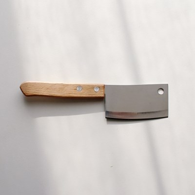 우드손잡이 미니 도끼칼