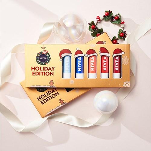 니베아 립케어 크리스마트 5종선물 세트+사은품