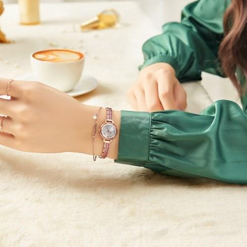 [쥴리어스스타 본사정품] JS-035 여성시계/손목시계/메탈밴드