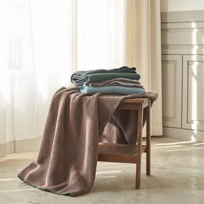 정은 양면덤블 담요