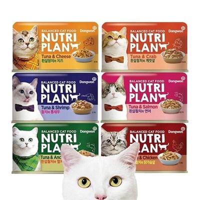 동원 고양이 뉴트리플랜 캔