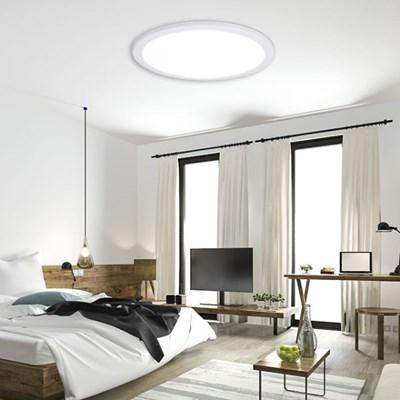원형 국산 LED 엣지 방등 면조명 KS 50W