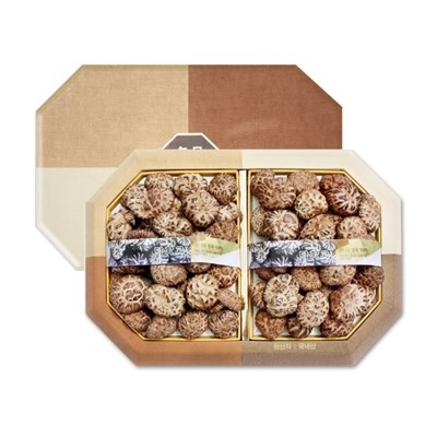 충북 영동 소백산 청결 표고버섯 흑화고 선물세트