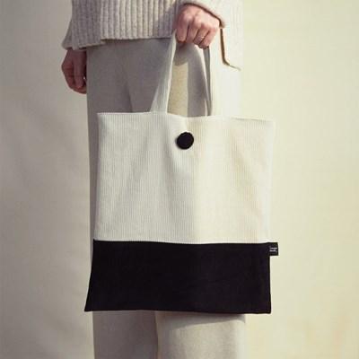 [corduroy bag] beige