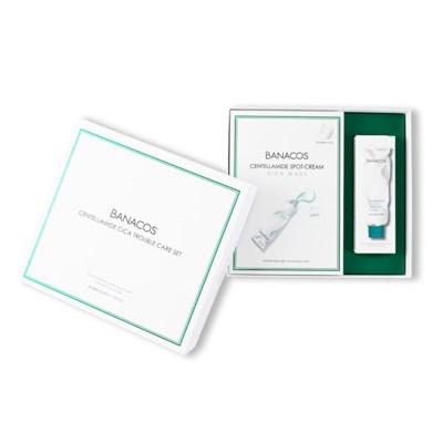 [바나코스]Gift Set 스팟크림시카마스크팩10ea+시카펩타이드크림1ea