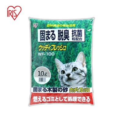 아이리스 우디후레쉬 고양이모래 WF-100_(1872109)
