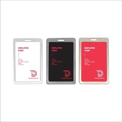 메탈 카드케이스, 알루미늄, 사원증, 신분증, 출입증, 명찰 명함