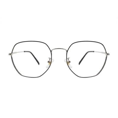 Magnus BLACK SILVER 오버사이즈 다각 메탈 안경