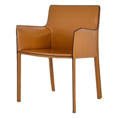 파이브 천연가죽 팔걸이 의자[SH003343]