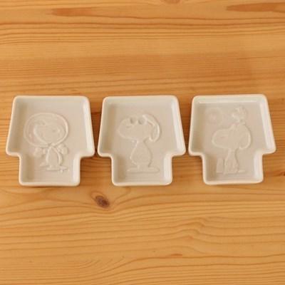 야마카 스누피 입체 소스접시 (3design)