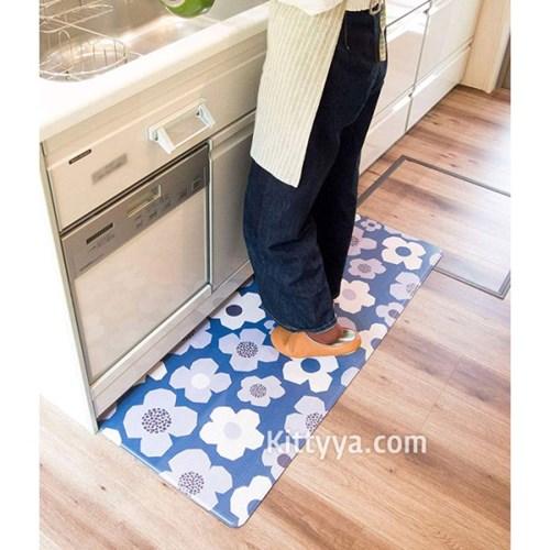 오카토 북유럽풍 PVC 키친매트 (플라워)