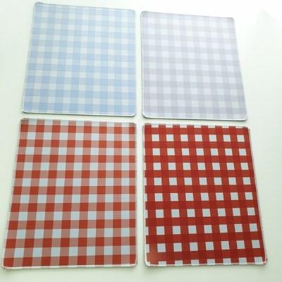 4 Color 체크 마우스 패드