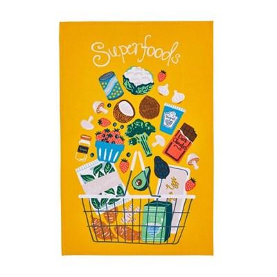 슈퍼푸드 패브릭 포스터 / 가리개