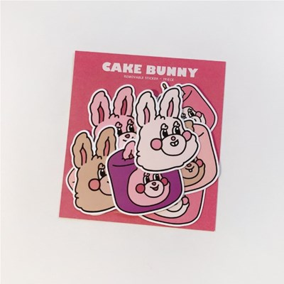 CAKE BUNNY STICKER