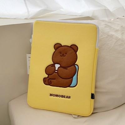 티타임 모모베어 laptop pouch