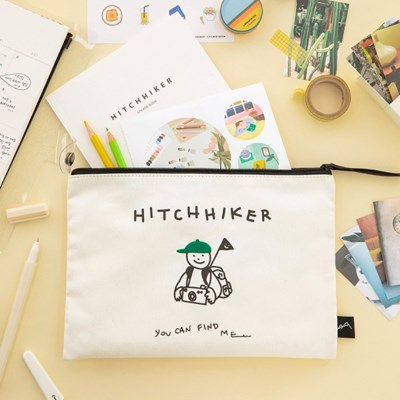 HITCHHIKER Fabric Pouch_하이커