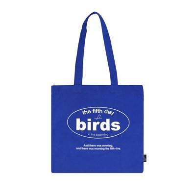 birds bag_blue