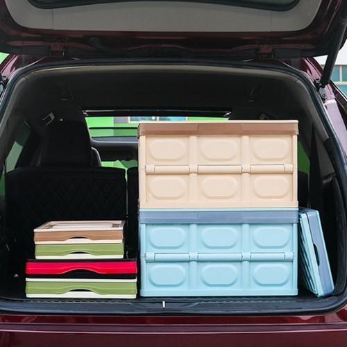 캠핑용 리빙 폴딩 테이블 박스