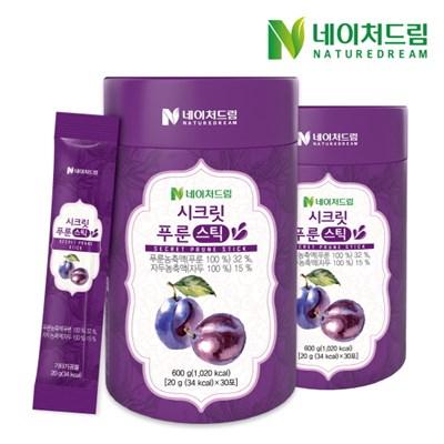 [네이처드림] 푸룬 젤리스틱 30포*2박스