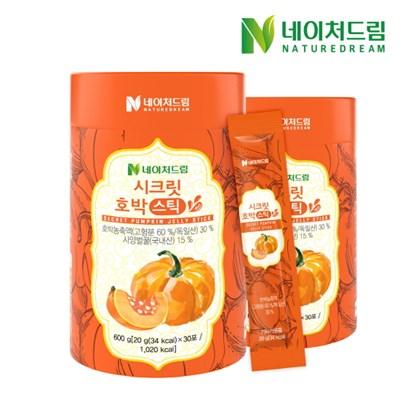 [네이처드림] 시크릿 호박 젤리스틱 30포*2박스