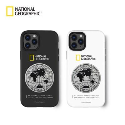 내셔널지오그래픽 아이폰12 프로 외 메탈데코 하드쉘 케이스