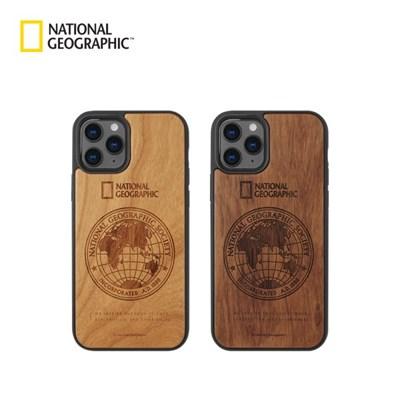 내셔널지오그래픽 아이폰12 프로 외 글로벌씰 네이처 우드케이스