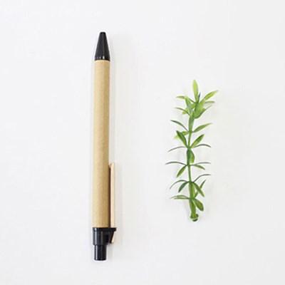 종이 샤프 사뿐히걷기 / 크라프트지 나무 클립 연필