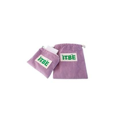 ITBE corduroy pouch_purple