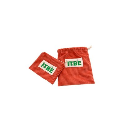 ITBE corduroy pouch_orange
