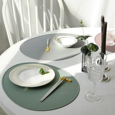 00 밸류세라믹 테이블 식탁 실리콘 방수 매트_(2479373)