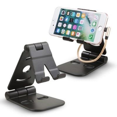 OMT 3단접이식 각도조절 휴대폰 거치대 가로세로 거치가