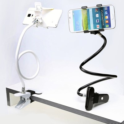 OMT 듀얼 집게 자바라 휴대폰 거치대 최대 70cm 길이 2c