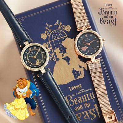 [OSTx디즈니 프린세스] 미녀와 야수 벨 무빙 시계 (2종택1)