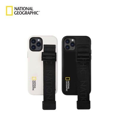 내셔널지오그래픽 아이폰12 외 스트랩 더블 프로텍티브 케이스