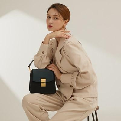 [Anny bag] 애니백 플랩 1+1_Black