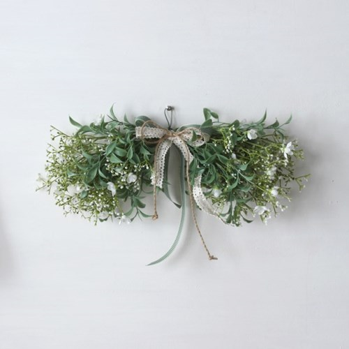 안개꽃 조화 스웨그(4color)