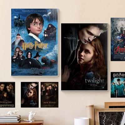 인테리어 인기 영화 아트 포스터 명화 패브릭 20종 D