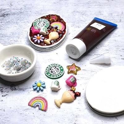 홈메디 데코덴 손거울 만들기-카페